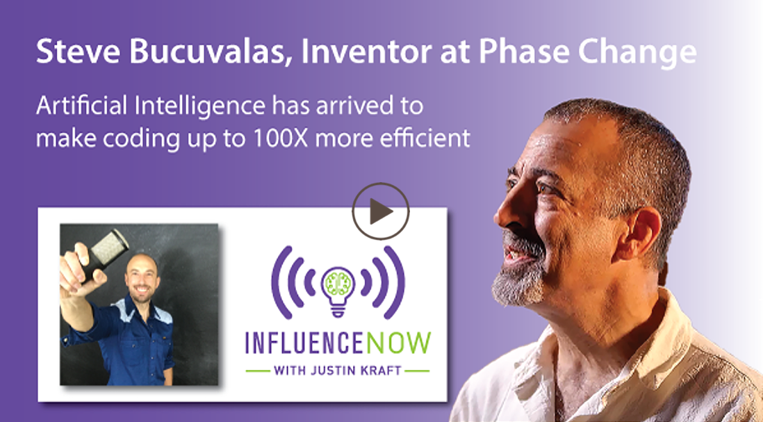 Steve Bucuvalas featured on the InfluenceNow! podcast